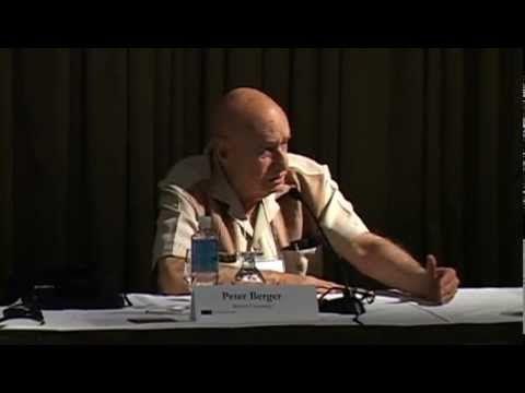 Dr. Peter Berger on Religion & Modernity