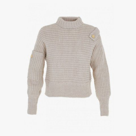 Tibi ribbed wool oversize easy sweater, $425
