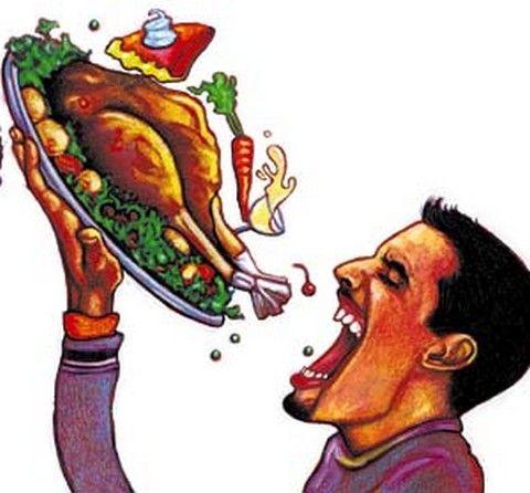Comer mucho aumenta el riesgo de pérdida de memoria