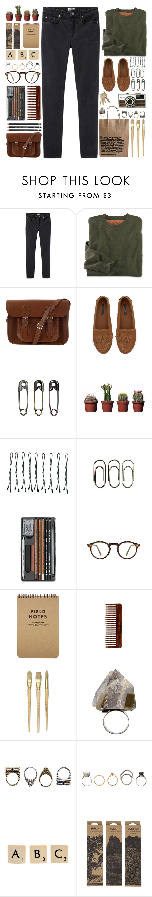 """""""Vaults - Premonitions"""" by annaclaraalvez ❤ liked on Polyvore featuring Acne Studios, The Cambridge Satchel Company, Zara, Tim Holtz, BOBBY, Clips, Oliver Peoples, (MALIN+GOETZ), COSTUME NATIONAL and Pull&Bear"""
