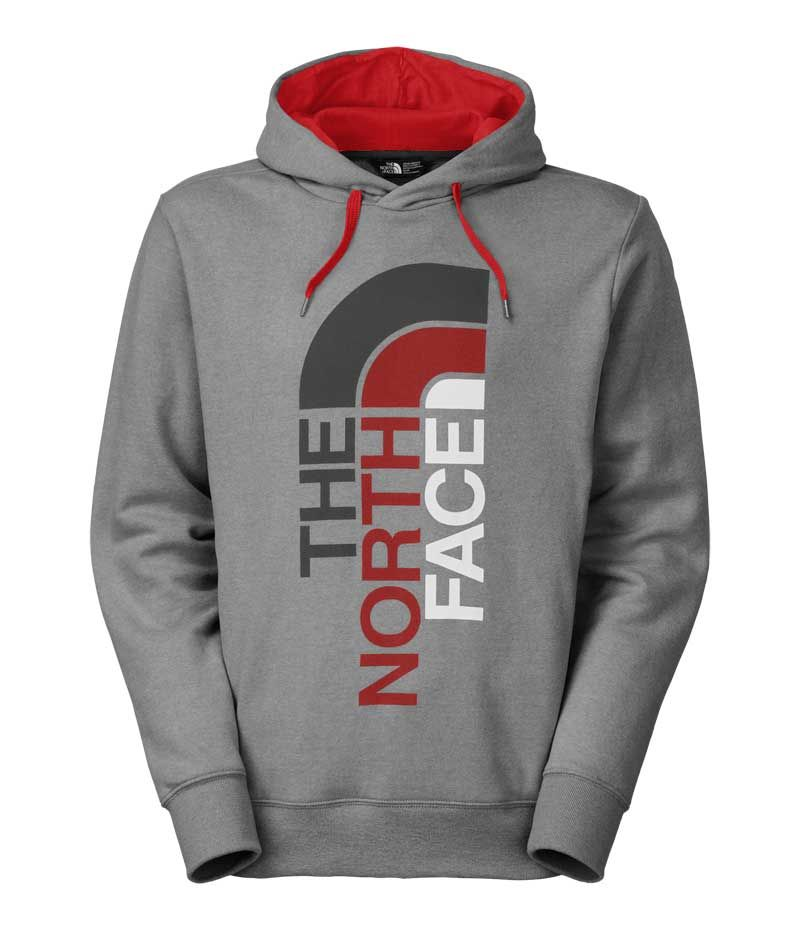 aeb4f623c The North Face Trivert Pullover Hoodie for Men in Medium Grey CH2N ...
