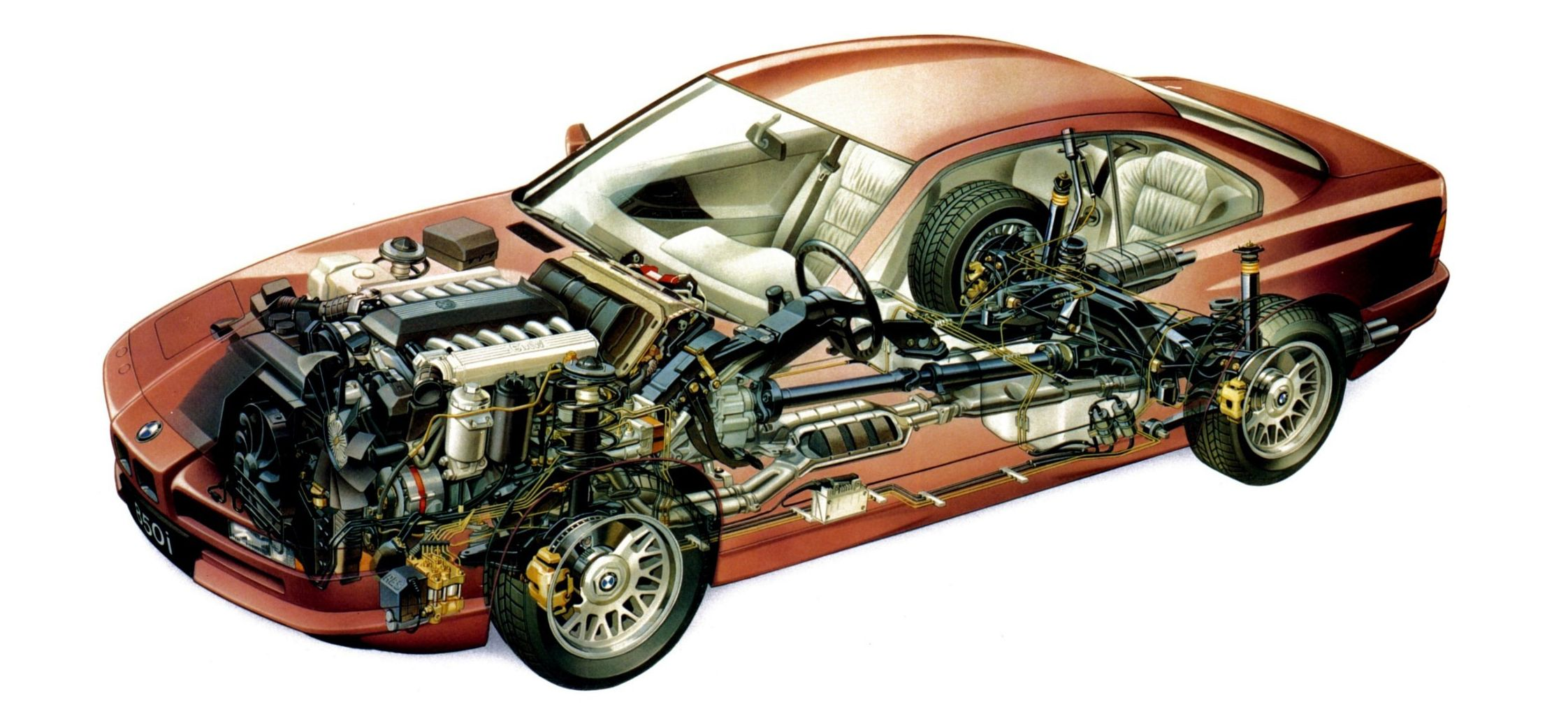 Does Your Car Have More Computers Than A BMW 850i? | Auto Cutaways