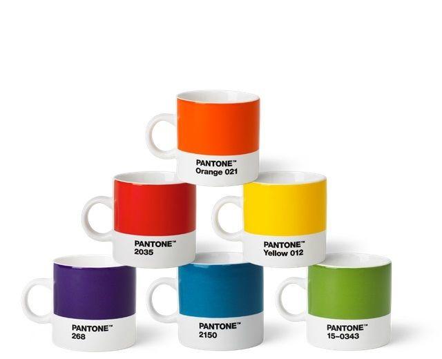 Pantone Tassen pantone porzellan espressotassen 6er set jetzt bestellen unter