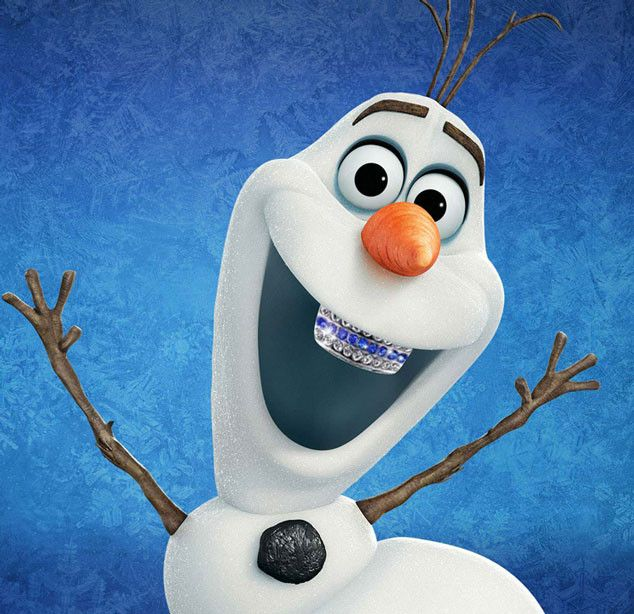Olaf from Disney Characters With Grills