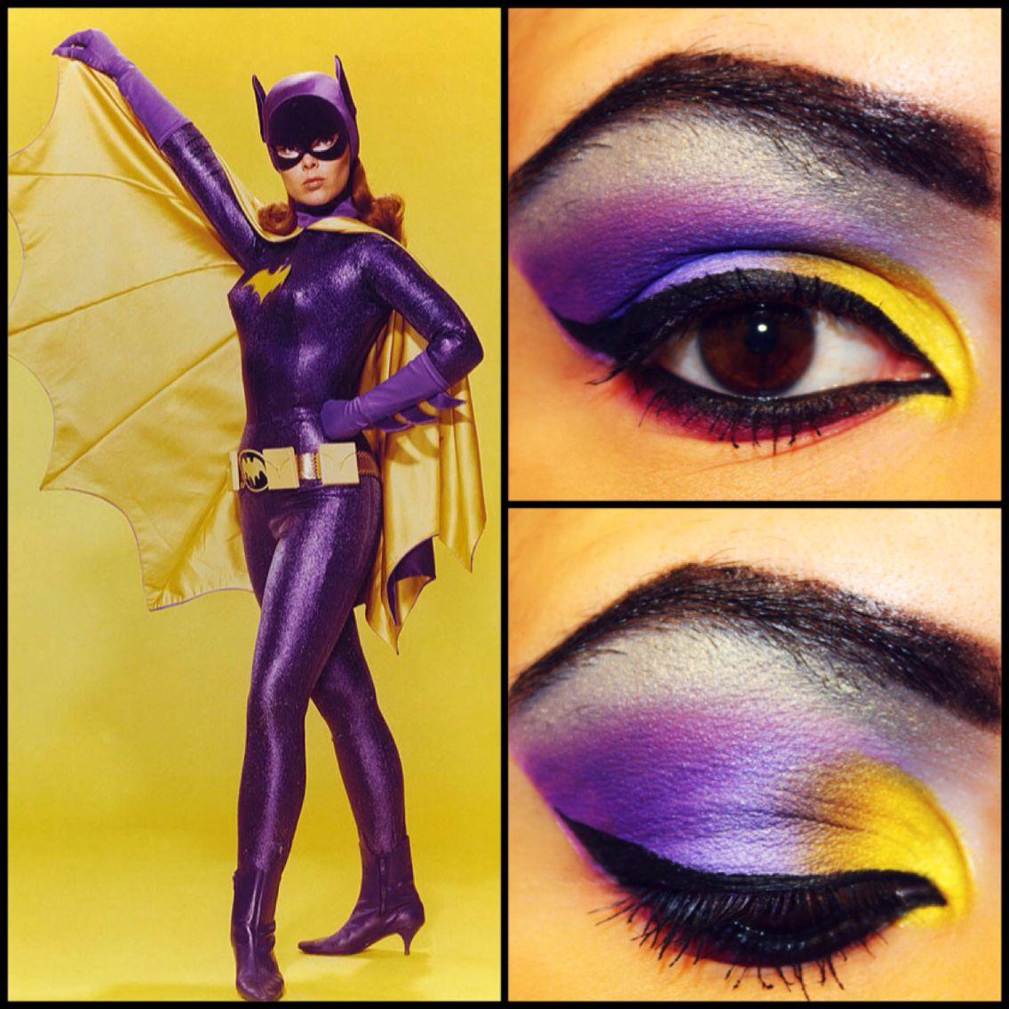 Batman 66s Batgirl Inspired Makeup Comic Book Cosmetics In 2018