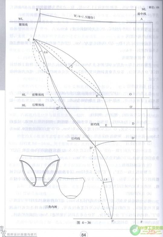 Panty Pattern | ropa interior | Pinterest | Patterns, Lingerie and ...