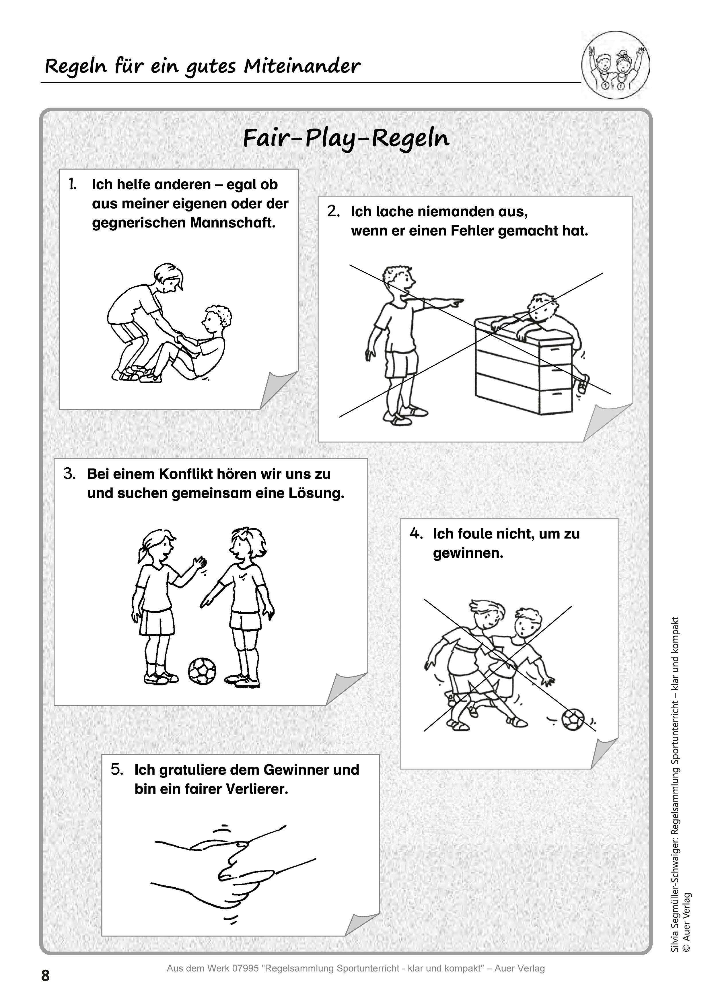 Regelsammlung Sportunterricht