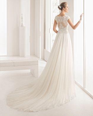 nazir - 2017 bridal collection. rosa clará.   vestido de novia