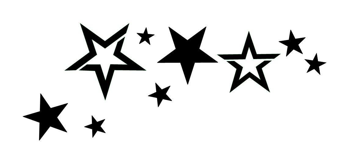 Pochoir tatouage temporaire Etoile Rihanna - etoile11 Unik Tattoo | Star tattoos, Lillies tattoo ...