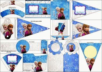Cumpleaños de Frozen: Imprimibles Gratis para Fiestas.