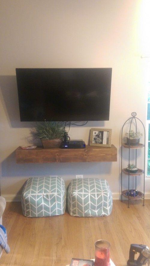 Floating Media Shelf Plus Tv