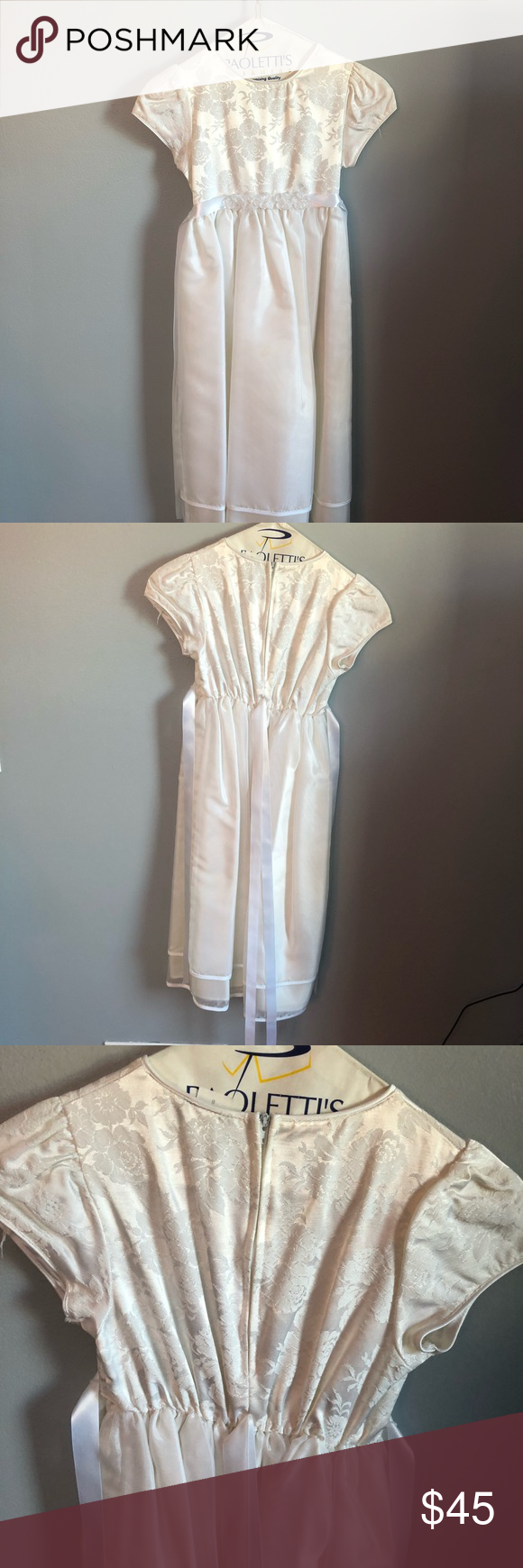 8b9e3eabf6d1 First Communion / Flower Girl Dress Worn once great condition Rare Editions  Dresses Formal