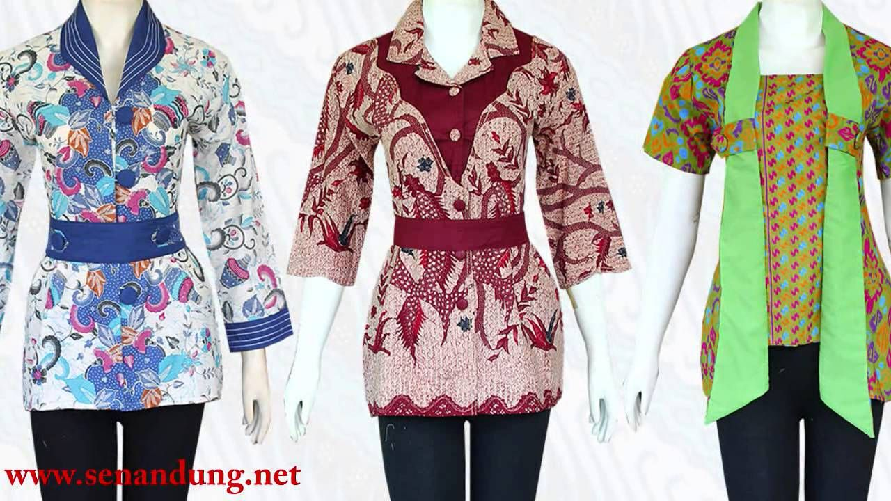 Model Desain Baju Batik Wanita di 2020 | Wanita, Model, Desain