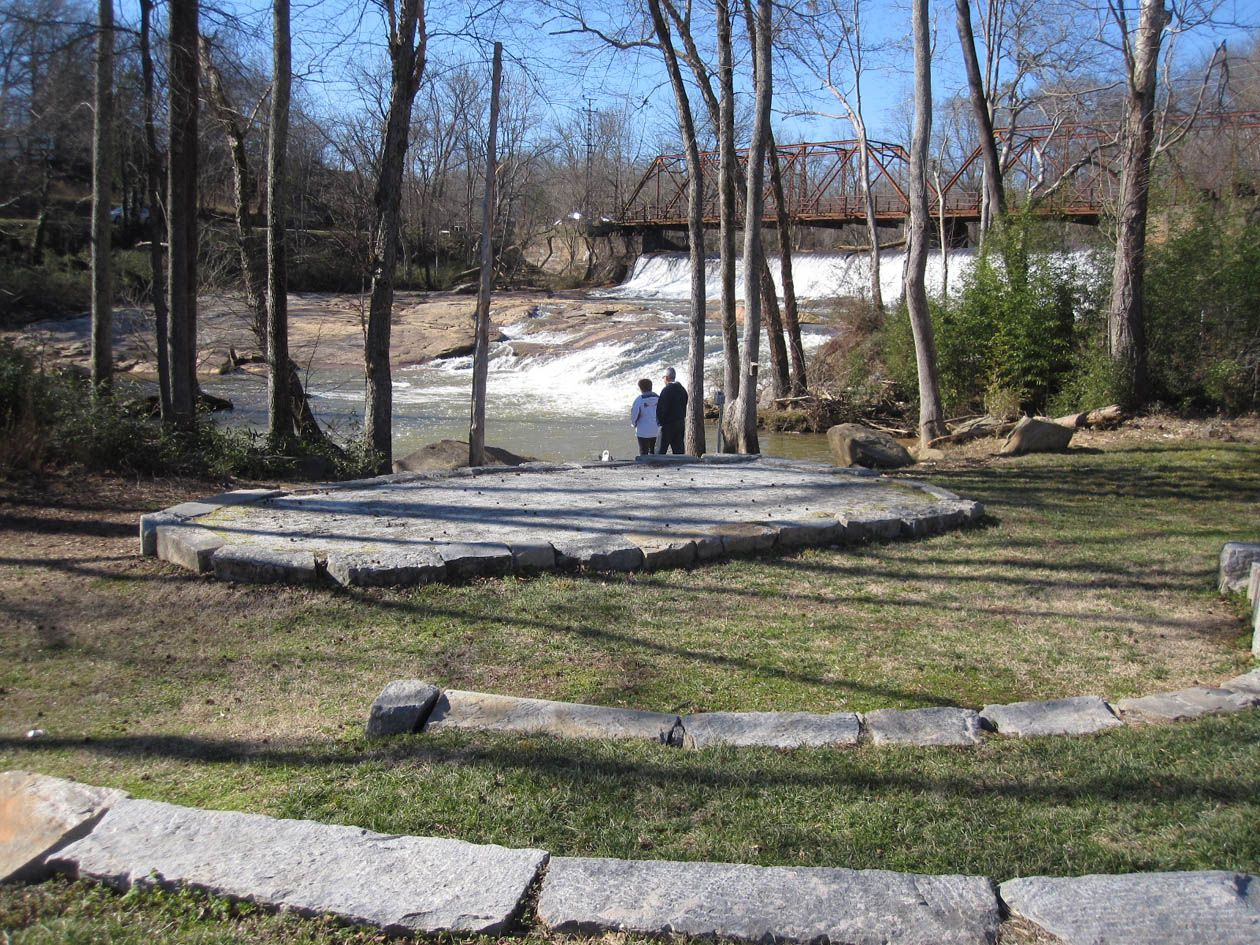 Glendale Shoals Preserve Features An Amphitheater