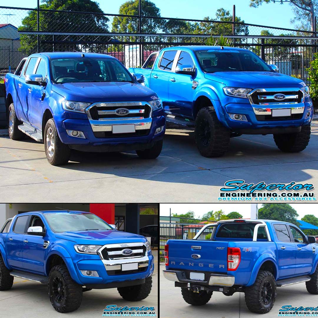 What S On The Hoist Vehicle Ford Ranger Px11 Dual Cab Fitted