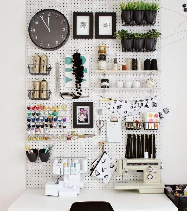 Benutzt eure Wände zum Aufhängen eurer Sachen