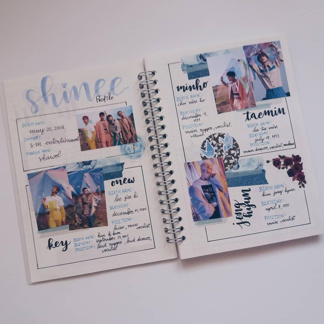 Shinee Profiles Because I Ve Been Obsessed With Them Lately And Because I Can T Stop Listening Bujo Bullet Journal Bullet Journal Ideas Pages Scrapbook Journal Kprofiles là blog tổng hợp thông tin, những điều thú vị về các thành viên nhóm nhạc kpop và những người nổi tiếng của hàn quốc. bujo bullet journal bullet journal