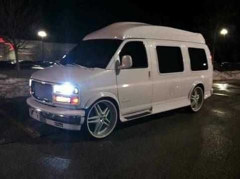 Gmc Van High Top Mitula Cars Gmc Vans High Top Vans Custom