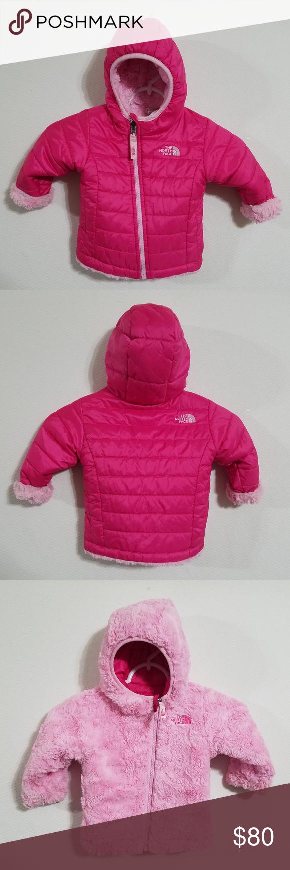 North Face Girls 612M Infant Winter Coat Jacket North