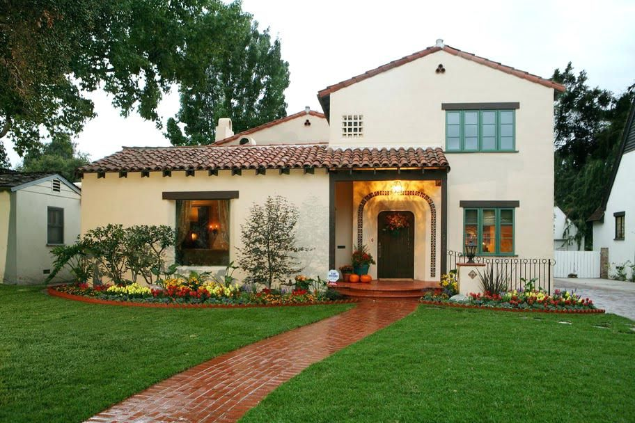 Small Spanish Style Homes Colonial Small Style House Plans Design