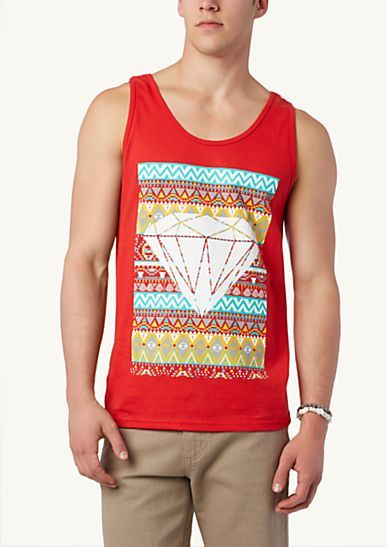 74d71ea51a1 Tribal Diamond Tank