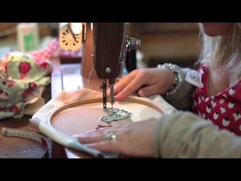 Freehand Machine Embroidery With Poppy Treffry Freehand Machine