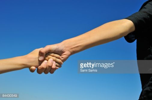 Someone Holding Hands