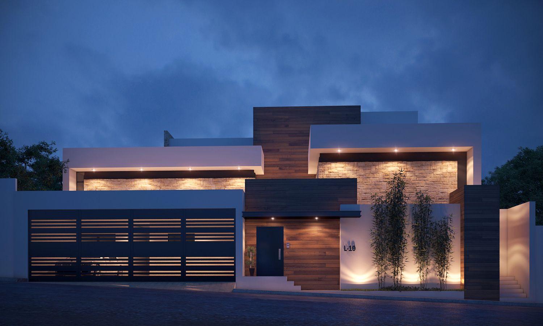 Imagen casas pinterest fachadas casas modernas y casas