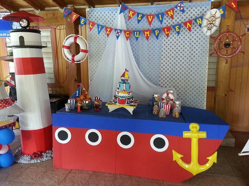 Nautical birthday fiesta n utica mar tima pinterest cumplea os fiestas y fiesta marinera - Fiesta marinera decoracion ...