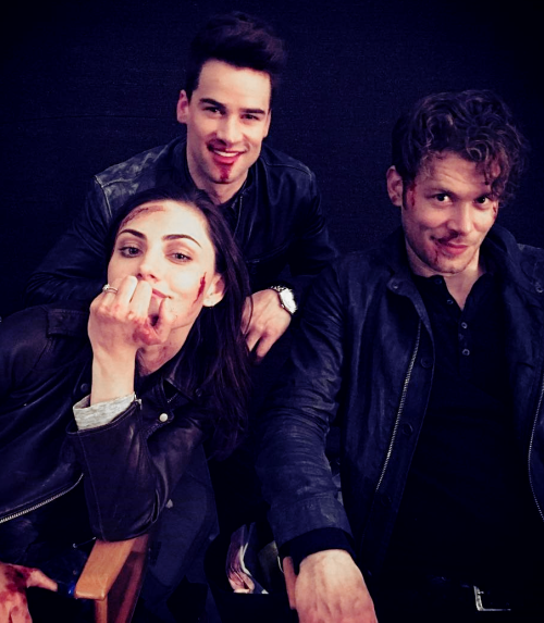 joseph morgan phoebe tonkin amp andrew lees of quotthe