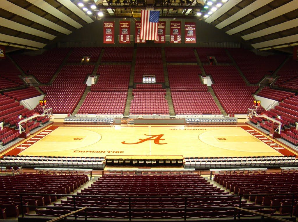 Ranking Sec Basketball Arenas Top To Bottom Secrant Com Basketball University Of Alabama Arenas