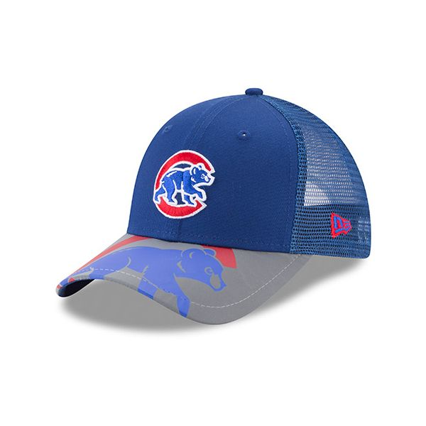9fc1c63594e Chicago Cubs Youth Mega Flect 9FORTY Cap  ChicagoCubs  Cubs  FlyTheW  MLB   ThatsCub