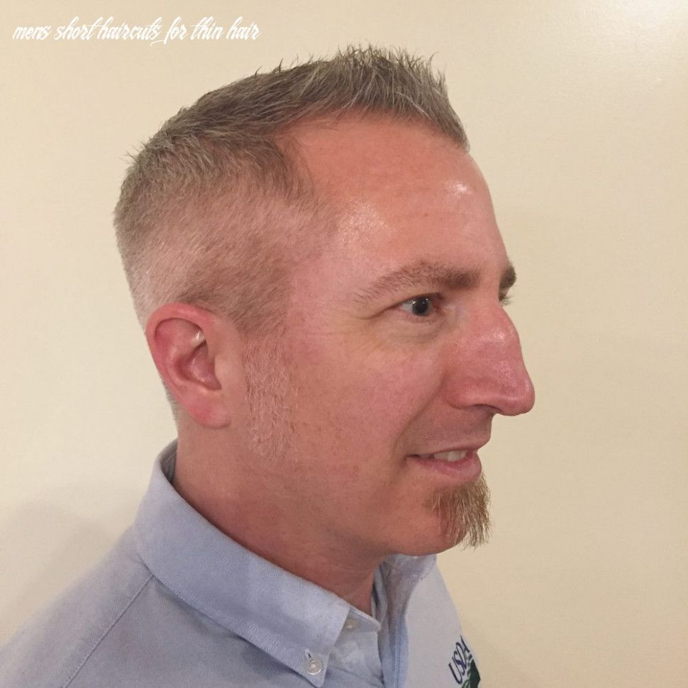 10 Mens Short Haircuts For Thin Hair Di 2020 Rambut Inspirasi