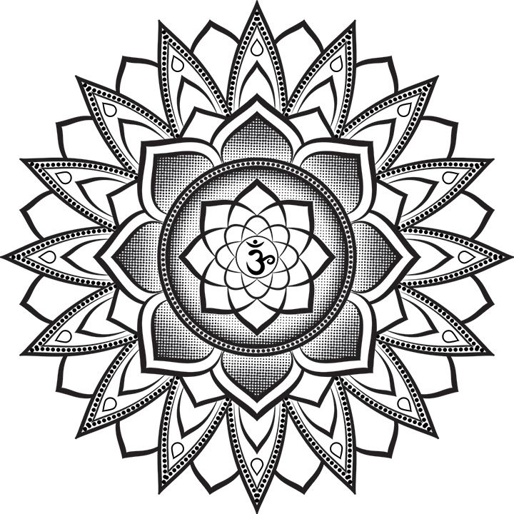 35 Spiritual Mandala Tattoo Designs: My Newest Mandala Tattoo Design For A Follower. I Hope You