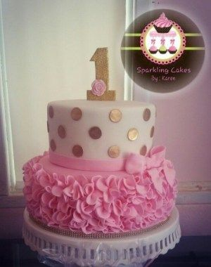 Ideas For First Birthday Cakes For Baby Girl BirthdayCakes http