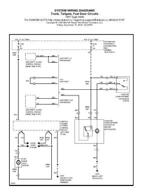 40e880076f9c73c1478e87a9e8a305d7 1997 saab 9000 trunk, tailgate, fuel door circuits wiring diagram saab 9-3 wiring diagram pdf at bayanpartner.co