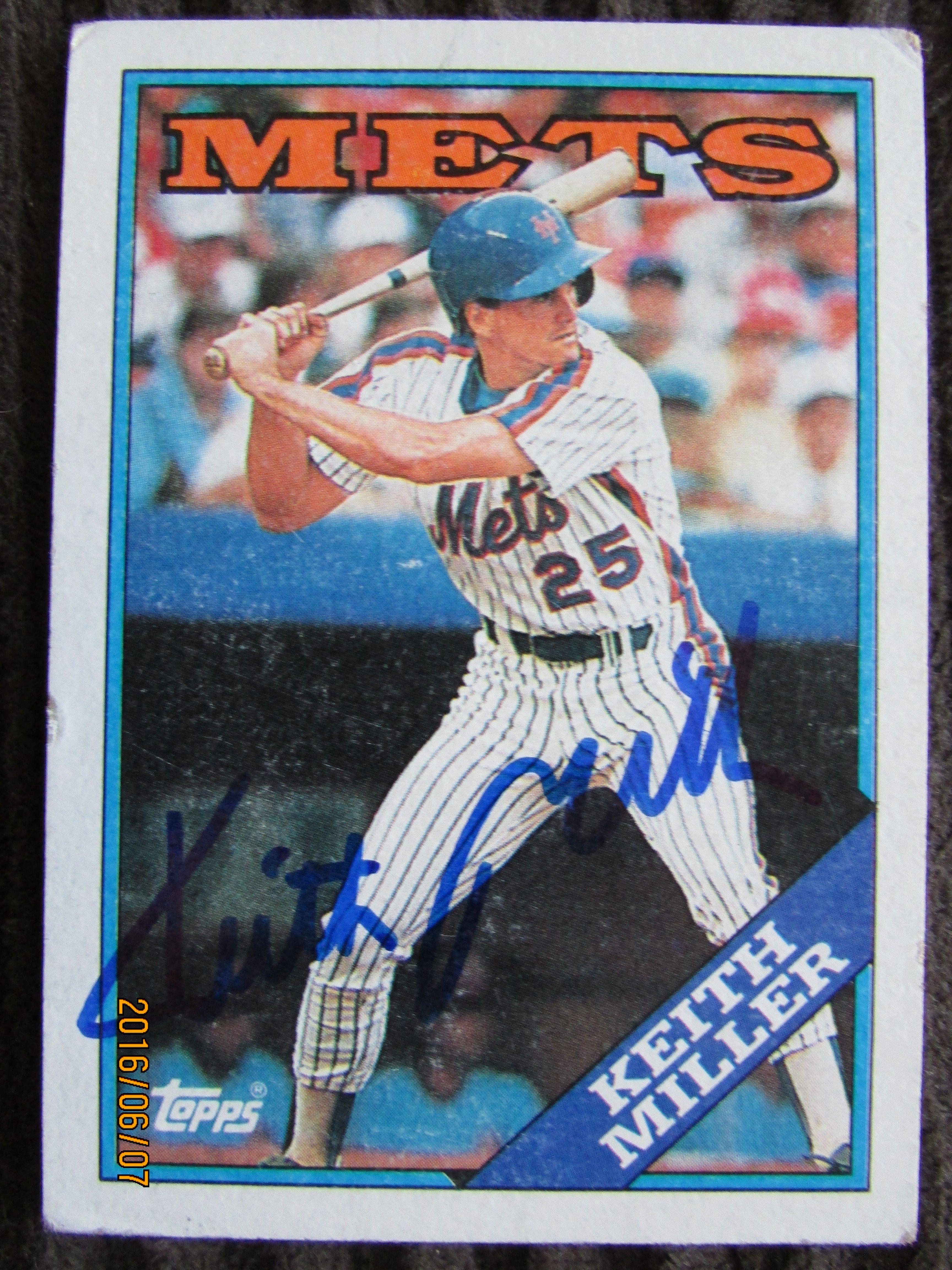 1988 Topps Ttm Baseball Cards Teams Sports