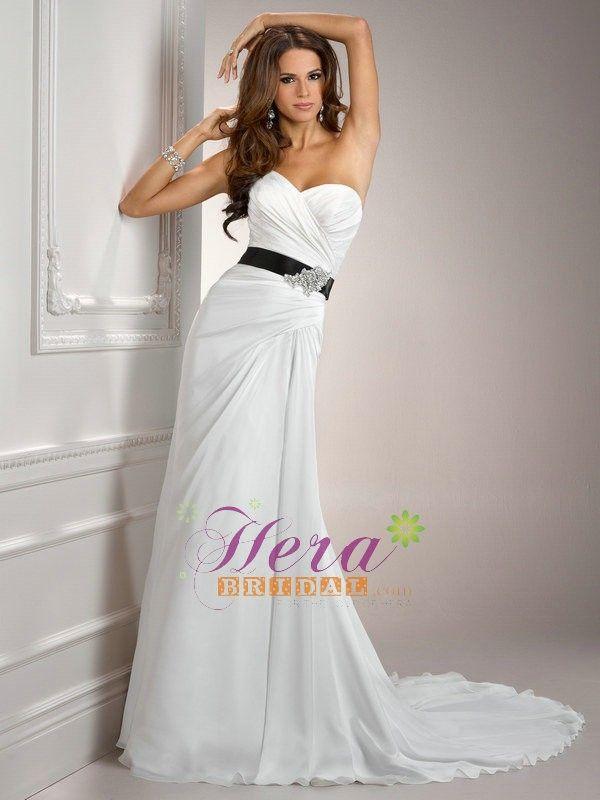 sweetheart neckline wedding dress   Wedding Dress   Pinterest