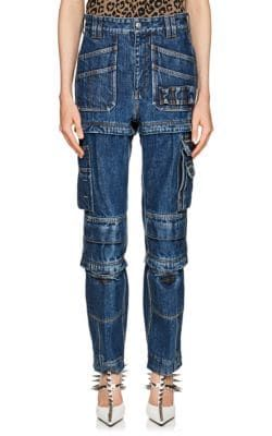 Distressed High-rise Straight-leg Jeans - Blue Balenciaga 13OtZn9NT