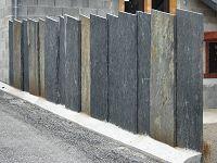 ardoises de d coration pour l 39 ext rieur ardoisi re de labassere clotures pinterest fences. Black Bedroom Furniture Sets. Home Design Ideas