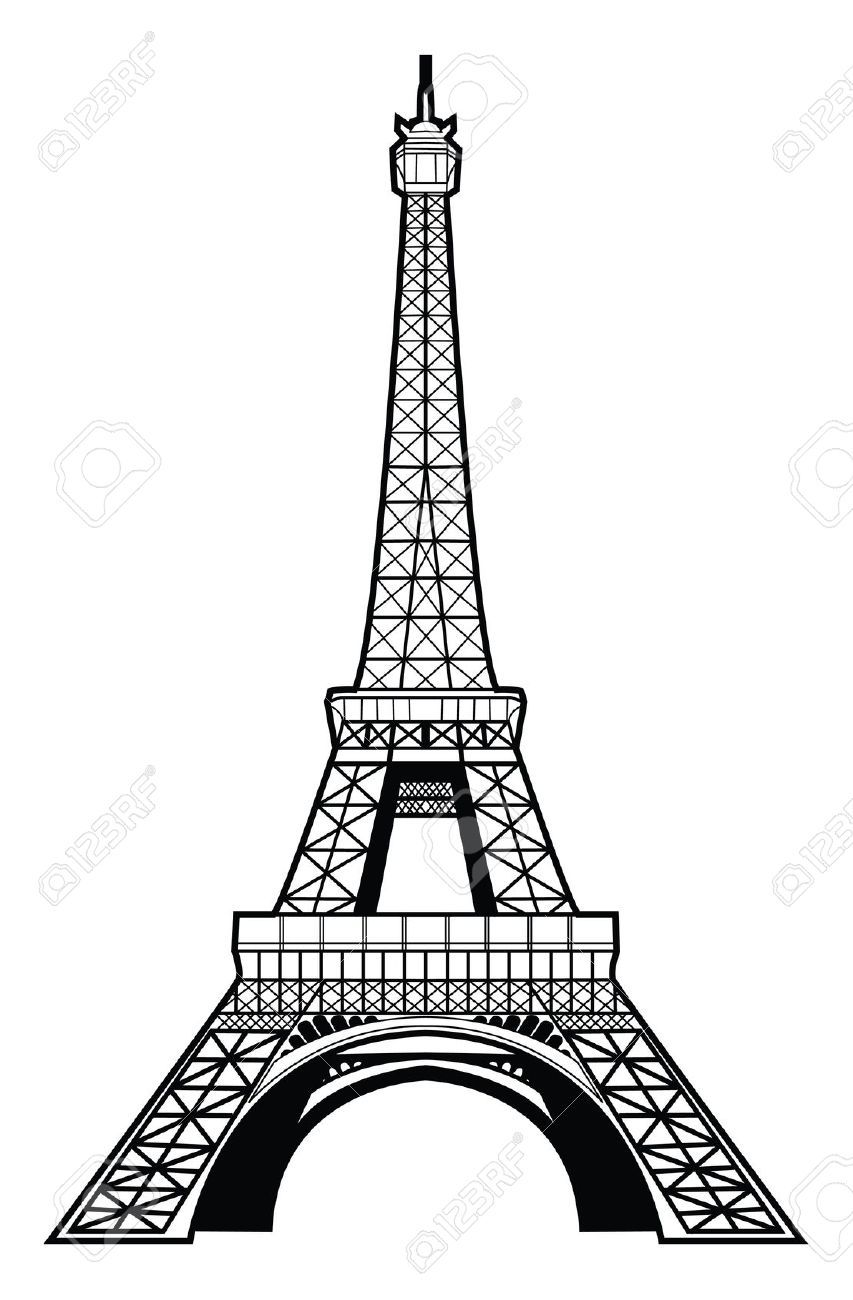 Image Result For Eiffel Tower Drawing Pictures In 2019