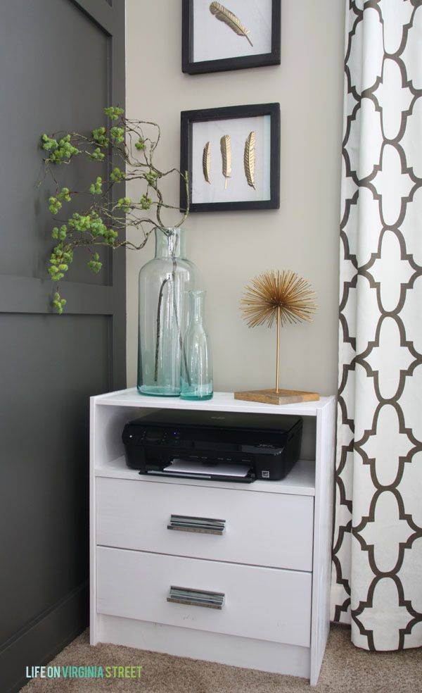 Superbe IKEA Rast Hack Via Life On Virginia Street Printer Stand Ikea, Printer  Storage, Studio