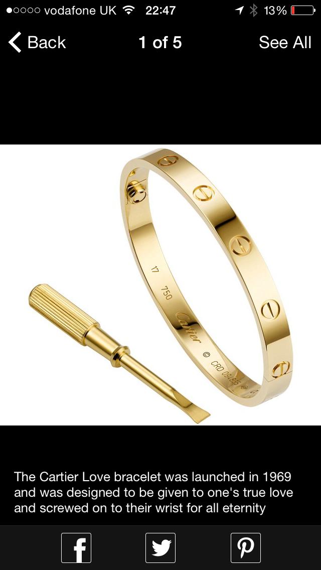 847b5fa57 Pin by Emma Barratt on Outfit ideas | Cartier love bracelet, Jewelry, Love  bracelets
