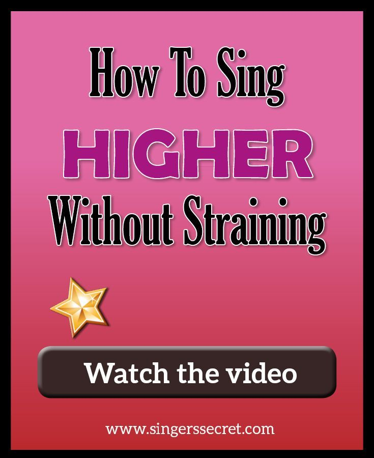 How to sing higher without straining singing tips