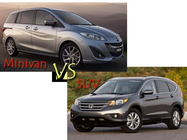 Minivan vs SUV - What Differentiates Minivan from SUV
