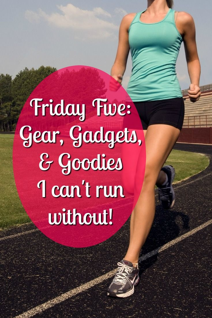 Running Gear I Can T Live Without Friday Five Womens Workout Outfits Gym Equipment Workout Running