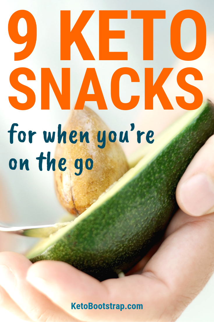 9 Keto Snacks for When You're On The Go (To Stay In Ketosis) images
