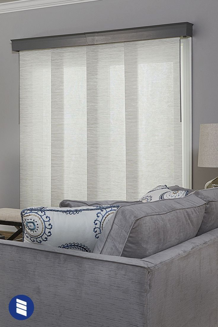 If you need shades for your sliding glass door vertical blinds aren