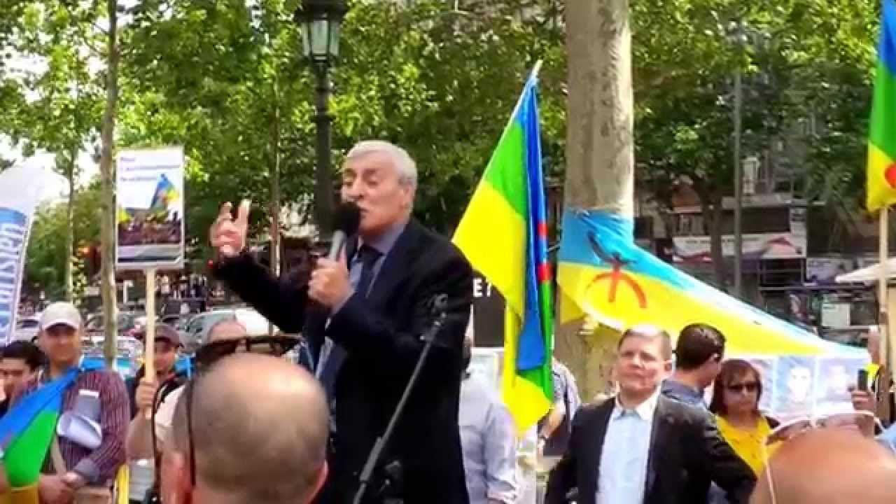 Journée de la nation kabyle Discours de Ferhat Mehnni