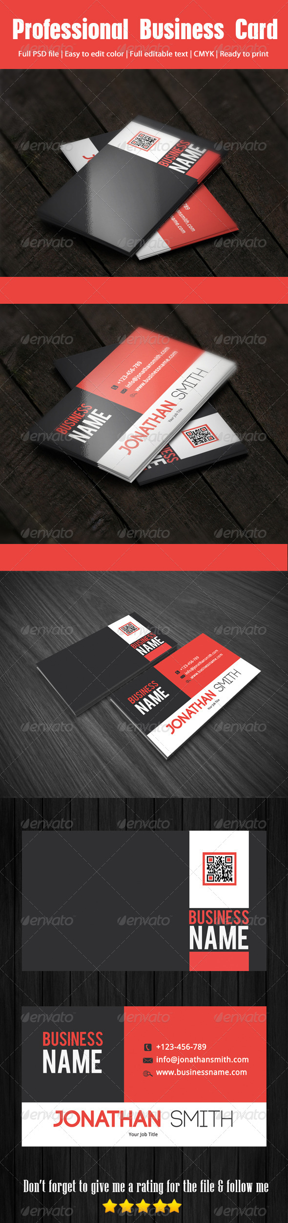 Professional Business Card | Fonts, Colors and Business card templates